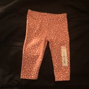 jumping beans Bottoms - JUMPING BEANS GIRL 9 MONTHS PINK DOTTED LEGGINGS 952fc020c